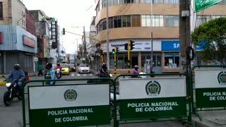 Así amaneció el Centro de Bucaramanga tras cierre de unas cuadras