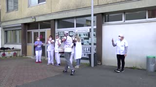 French ICU nurses strike for better pay
