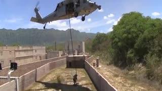 Military practice training