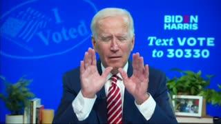 Joe Biden Shocking Admission of Voter Fraud