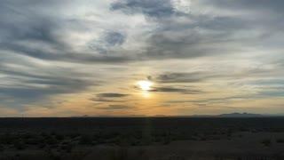 Sunset 1/12/221 Ehrenberg , Arizona