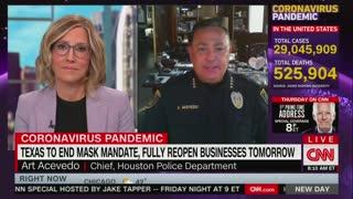 Houston police chief on Masks