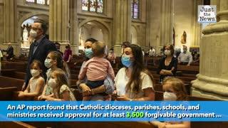 Catholic Church received at least $1.4 billion in coronavirus aid