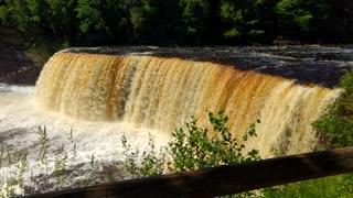 Beautiful Tahquamenon Falls, Mi