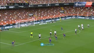 The BEST Goal from FC Barcelona .FIRE ON FIRE . Messi the king of FCB