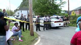 Black man shot dead by police serving warrant