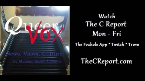 QueerVox Episode 3 - Epstein the Great Abuser, and Ocasio the Great Exploiter