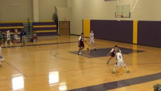 8th Grade Basketball 2014 - Tournament - Game 1 - Reverse Layup
