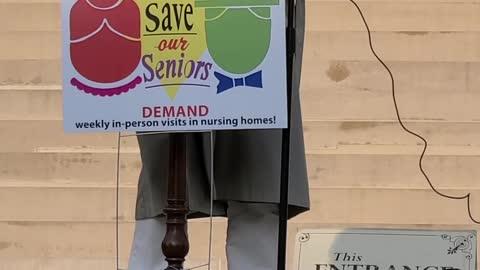 SAVE OUR SENIORS, LANSING, April 3, 2021 #1