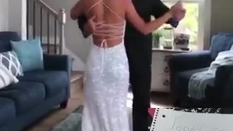 Marli's high school senior prom was cancelled, but that didn't stop her from celebrating