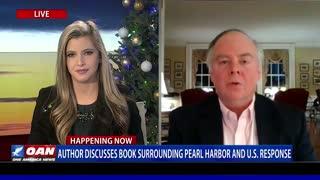 Author discusses book surrounding Pearl Harbor and U.S. response