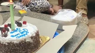 Celebrating birthday in Nepal