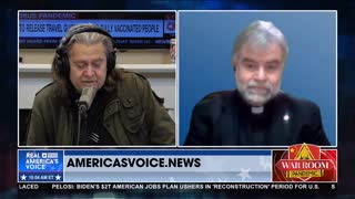 Steve Bannon Interviews Father McTeigue on Good Friday