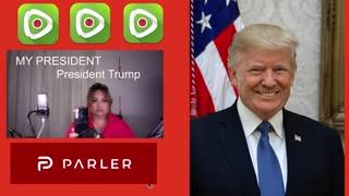 President TRUMP / WE WILL NEVER SURRENDER