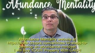 ABUNDANCE MENTALITY wants to BUY YOUR Property