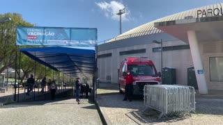 [Video] 40 minutos para vacunarse contra el COVID-19 en Portugal