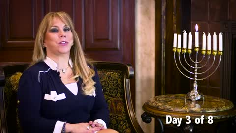 Day 3 of the 8 Lights of Hanukkah Series by Victoria Sarvadi