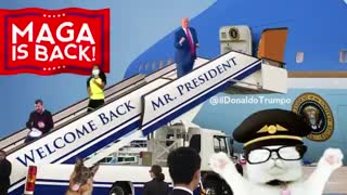 MAGA IS BACK - Welcome Back President Trump