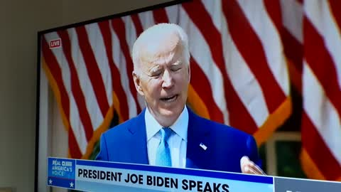 Joe Biden's Horns Are Showing Today - Demons Manifesting Into Reality