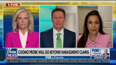 Elise Stefanik joins Fox & Friends to discuss Cuomo's latest vicious smears against his victims