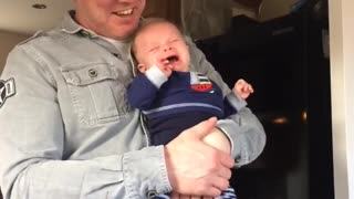 Strange Way to Stop a Baby Crying