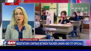 Negotiations continue between teachers unions and city officials