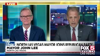 Vegas Democratic Mayor Switches to Republican