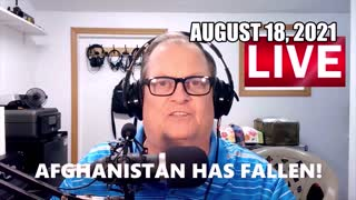 NEWS ALERT! AFGHANISTAN HAS FALLEN!