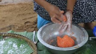 Yummy cooking dessert recipe _ Cooking skills _ Khmer Survival Skills