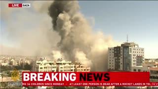 Israeli Military BOMBS The Associated Press, Al Jazeera Building