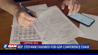 Rep. Stefanik favored for GOP conference chair