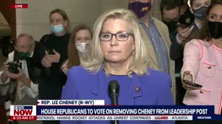 Liz Cheney Slams Trump After Being Ousted From House Leadership