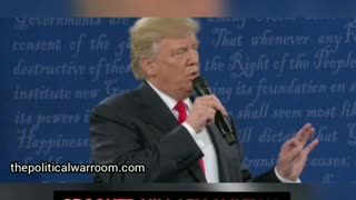 """TRUMP TO CROOKED HILLARY """" YOU WOULD BE IN JAIL """""""