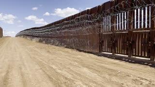 Trumps border wall