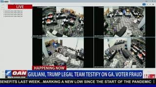Georgia Ballot Fraud On Video!