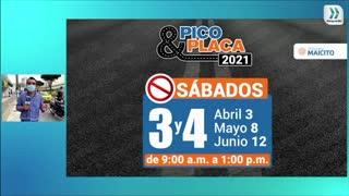 #ReporteDeNoticias I Así rotó el Pico y Placa en Bucaramanga