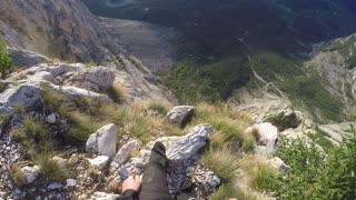 BASE Jump Goes Bad on Mount Brento