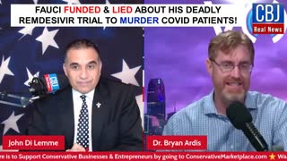 Fauci Funded and Lied about Deadly Remdesivir Trial to Murder Patients...