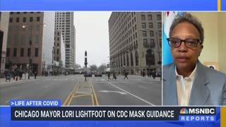 Chicago Mayor Says She'll Keep Wearing a Mask Despite CDC Guidance