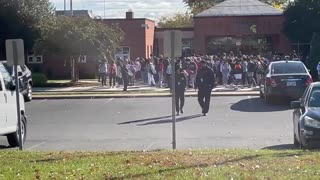 Loudon County HS Students Walk Out In Support Of Sexual Assault Victims