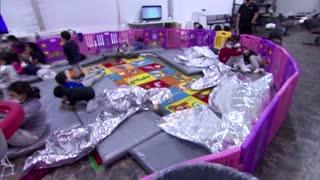 Migrant children strain U.S. border facilities