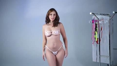 Hot Micro Bikini try on Haul