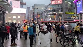 Lockdown Protest in 🇨🇦 Canada