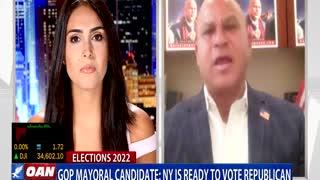 GOP mayoral candidate says N.Y. is ready to vote Republican