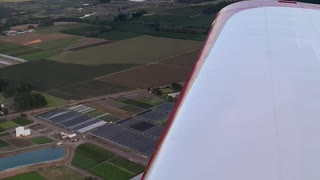flying an RV12 airplane in OR