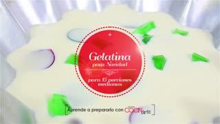 Receta Cocinarte: Gelatina para navidad