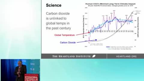 Jay Lehr - the slide show I showed Trump on Climate Change