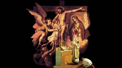 Padre Ruiz, 2021 05 30 EL DEMONIO MUDO Y LOS SEPULTUREROS DE LA FSSPX Dom de la Ssma Trinidad