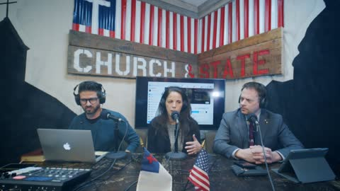 Church&State With Dr. Simone Gold! Get the Truth on Covid, Vaccine injury numbers, & Israeli action