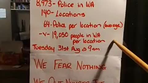 Western Australia we fear nothing these are the numbers 29052021